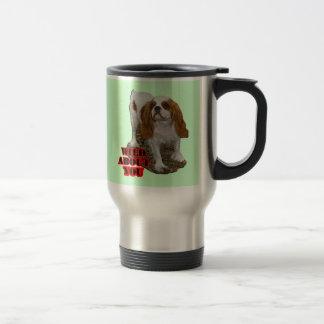 Cavalier Spaniel Travel Mug
