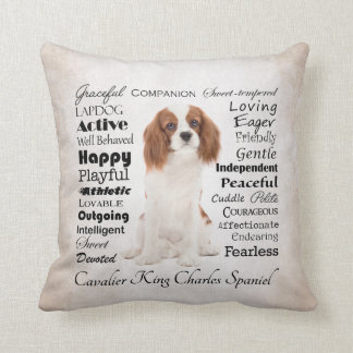 Cavalier Traits Pillow