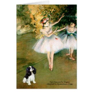 Cavalier (Tri5) - Two Dancers Card