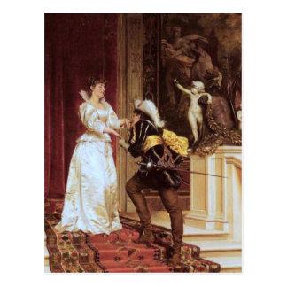 Cavalier's Kiss - Soulacroix Postcard