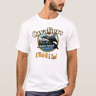 cavaliers_of_puget_2010, Whale Words T-Shirt