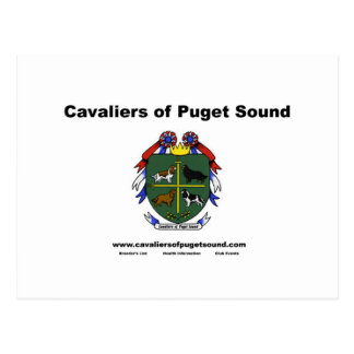 Cavaliers of Puget Sound Club Card2 Postcard