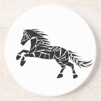 Cavallerone - black horse coaster
