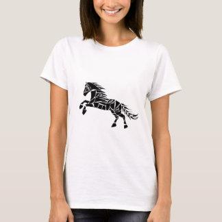 Cavallerone - black horse T-Shirt