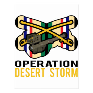 Cavalry Stinger Desert Storm Postcard