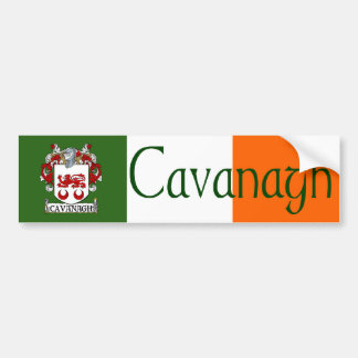 Cavanagh Coat of Arms Bumper Sticker