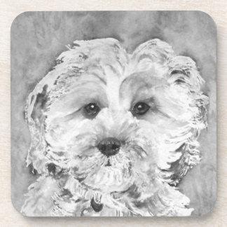 "Cavapoo puppy "" Ollie"". Coasters"