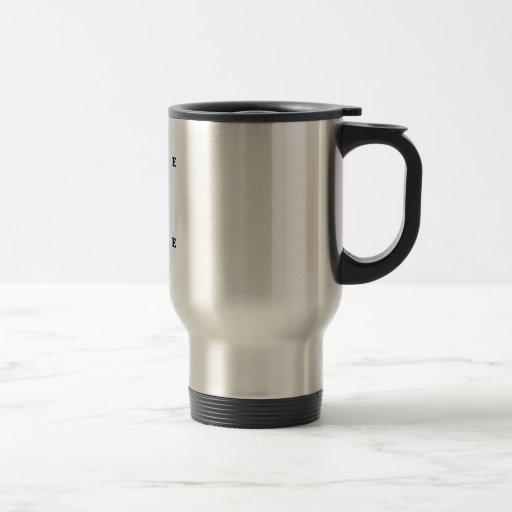 Cave Alpha Dive Flag Coffee Mugs