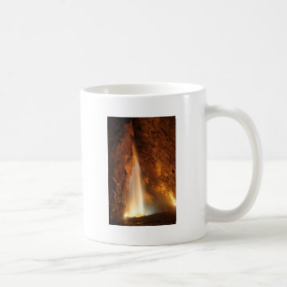 Cave design coffee mug