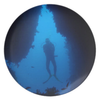 Cave Diver Plate