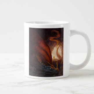 Cave Dragon Giant Coffee Mug