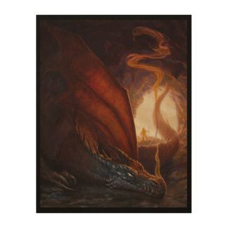 Cave Dragon Wood Canvases