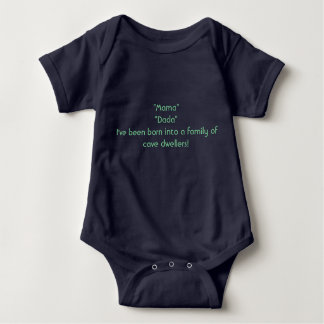 Cave Dwellers Baby Bodysuit
