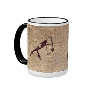 Cave Hunter Ringer Mug