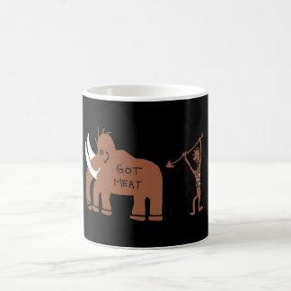 CAVE MAN MAMMOTH COFFEE MUG