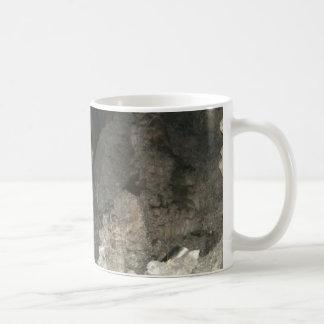 cave basic white mug