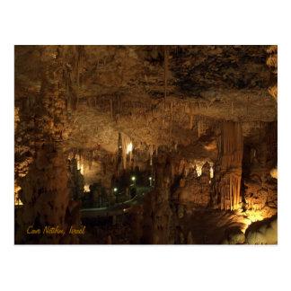 Cave Netifim, Israel Postcard