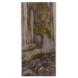 Cave Of Ice Wood USB 3.0 Flash Drive