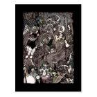 Cave of Spleen Gothic Artwork Postcard