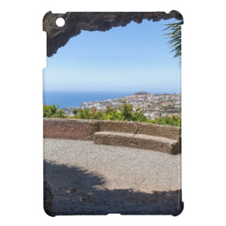 Cave outlook on sea and village on Madeira iPad Mini Cover