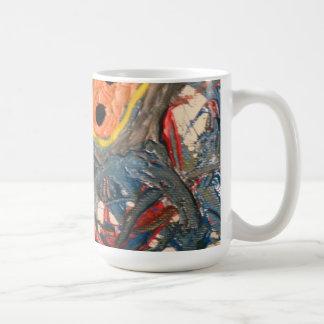 cave painting classic white coffee mug