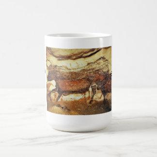 Cave painting, Lascaux Basic White Mug