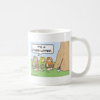 cave realty realtor fixer upper basic white mug