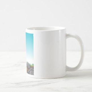 Cave scene classic white coffee mug