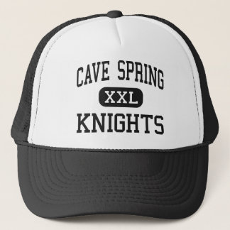 Cave Spring - Knights - High - Roanoke Virginia Trucker Hat