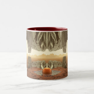 Cave With A View Two-Tone Coffee Mug