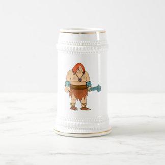 Caveman 18 Oz Beer Stein