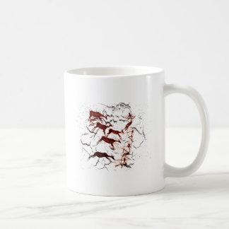 Caveman Art Basic White Mug