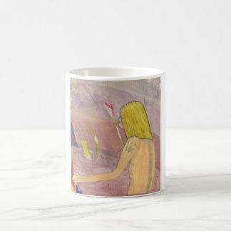 Caveman - By Tee Joe McArt Basic White Mug