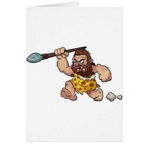 caveman greeting cards