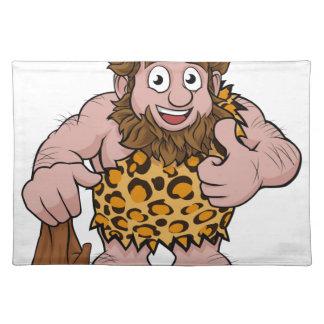 Caveman Cartoon Placemat