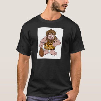 Caveman Cartoon T-Shirt
