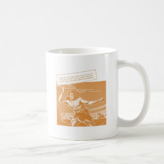Caveman Classic White Coffee Mug