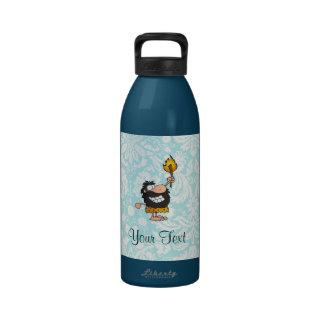 Caveman; Cute Reusable Water Bottles