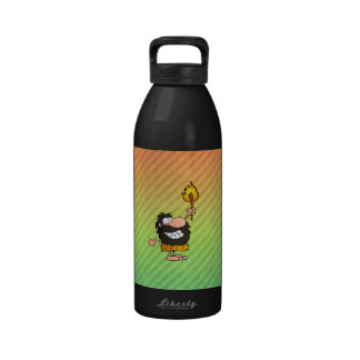 Caveman Design Reusable Water Bottles