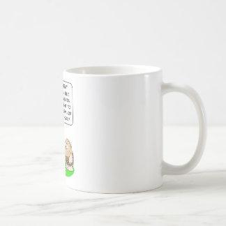 caveman invent fire ash disposal classic white coffee mug
