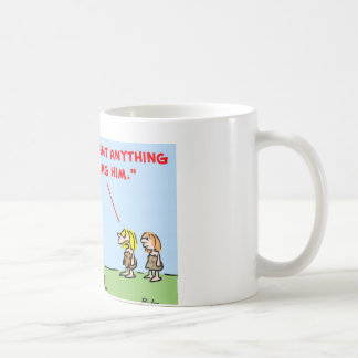 caveman invent nag classic white coffee mug