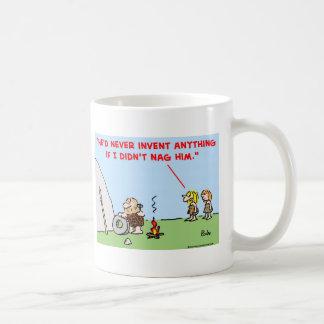 caveman invent nag mugs