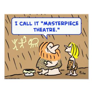 caveman masterpiece theatre theater custom announcements