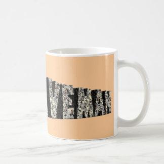Caveman Basic White Mug