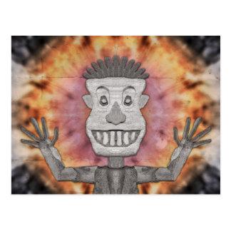 Caveman of Good Cheer Postcard