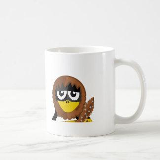 Caveman Penguin Coffee Mugs