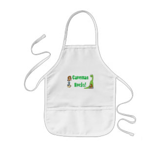 Caveman Rocks! Kids Apron