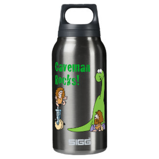 Caveman Rocks! SIGG Thermo 0.3L Insulated Bottle