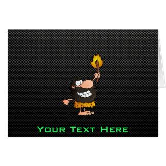 Caveman; Sleek Greeting Card