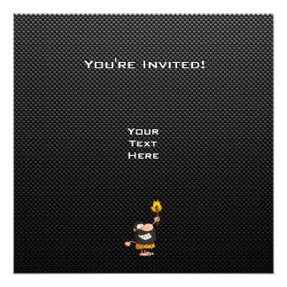 Caveman Sleek Personalized Invite